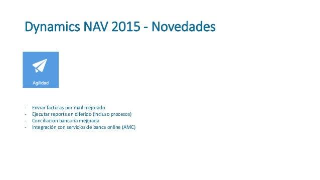 Webinar sobre las novedades de microsoft dynamics nav 2015 for Las novedades