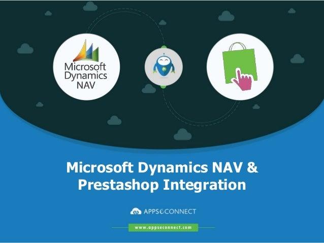Microsoft Dynamics NAV & Prestashop Integration
