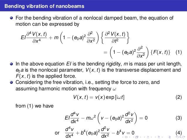 Dynamic Stiffness And Eigenvalues Of Nonlocal Nano Beams