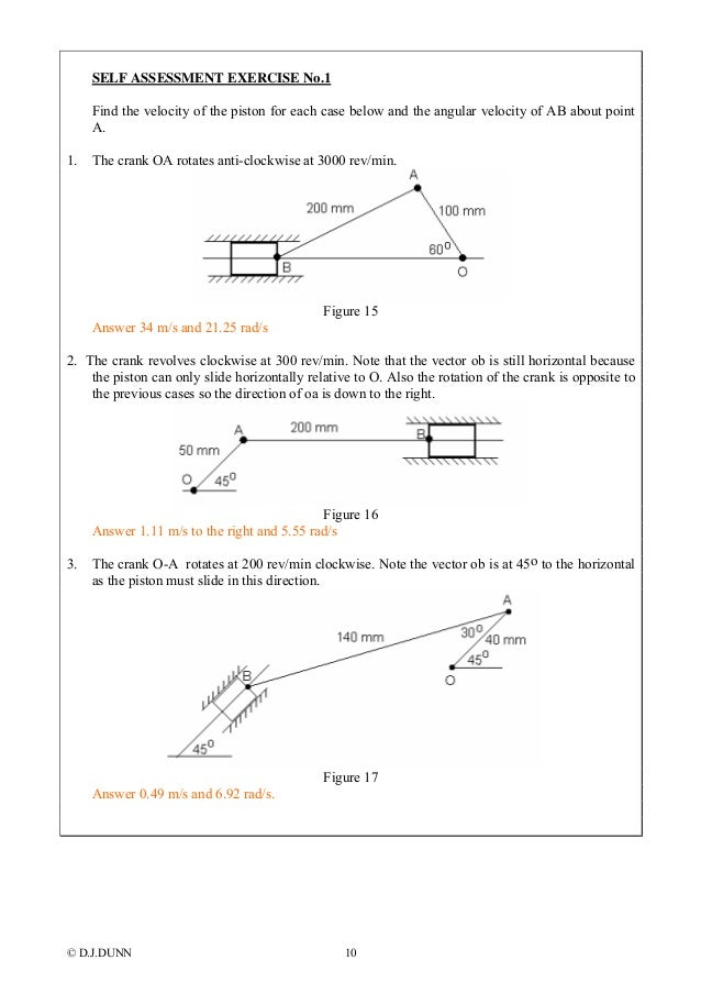 Dynamics velocity diagrams absolute angular velocity 10 ccuart Image collections