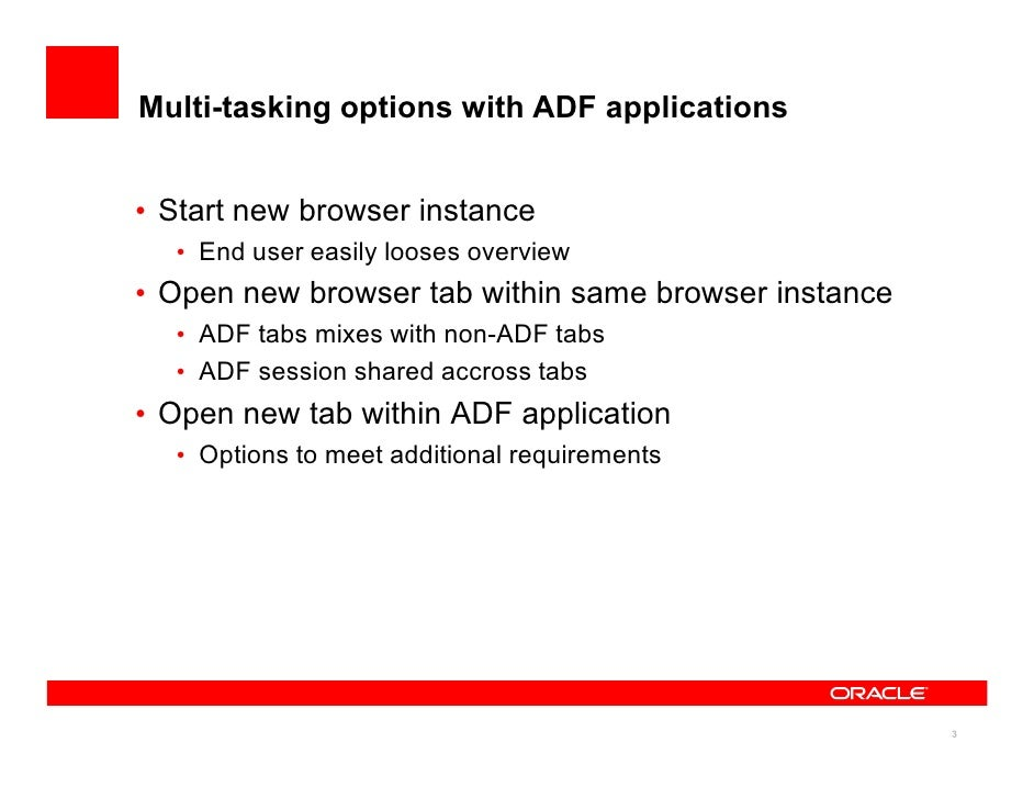Empowering Multi-tasking with an ADF UI Powerhouse (UIShell