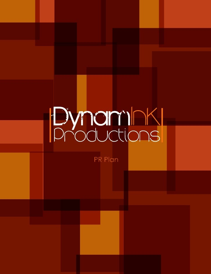 DynamInk Production PR Plan
