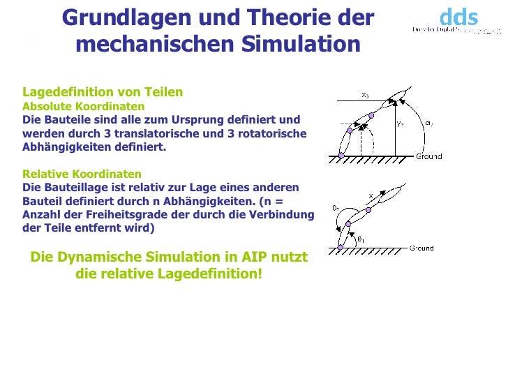 Dynamische simulation autodesk inventor for Freiheitsgrade statik