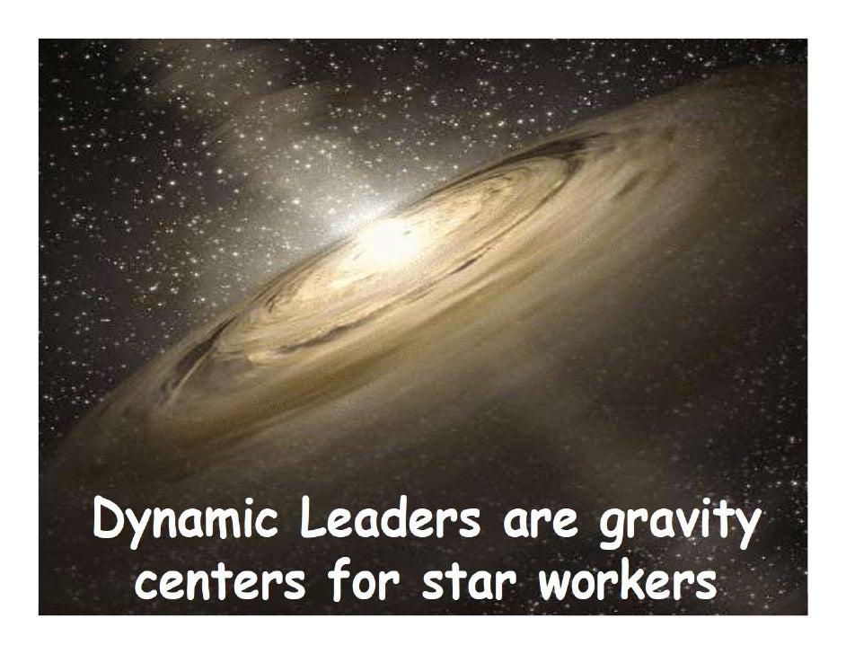 Dynamische leiders zijn...