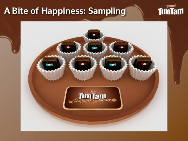 A Bite of Happiness: Sampling