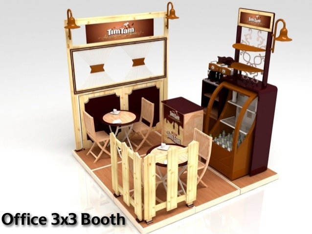 Office 3x3 Booth