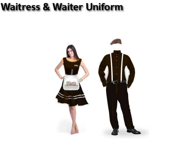 Waitress & Waiter Uniform