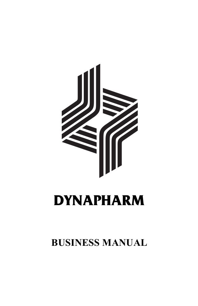Dynapharm Business Manual