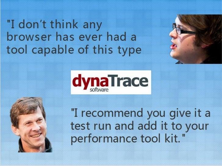 Dyna trace ajax edition介绍 Slide 2