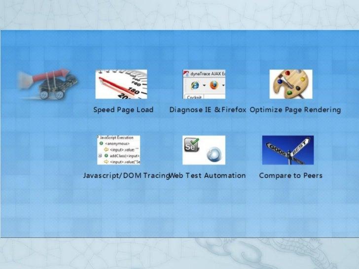 Dyna trace ajax edition介绍 Slide 3
