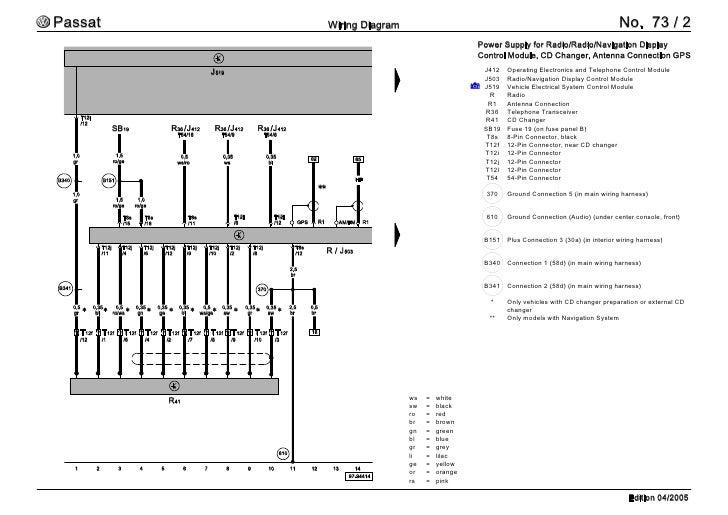 2005 vw pat wiring diagram | 2005 wirning diagrams, Wiring diagram