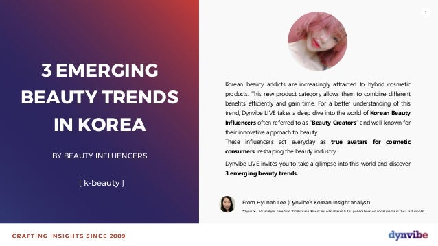 111 3 EMERGING BEAUTY TRENDS IN KOREA BY BEAUTY INFLUENCERS [ k-beauty ] Korean beauty addicts are increasingly attracted ...