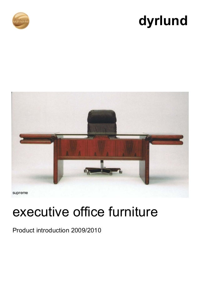 Executive Office Furniture | Rosewood Desk