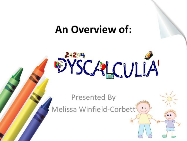 An Overview of:  Presented By  Melissa Winfield-Corbett