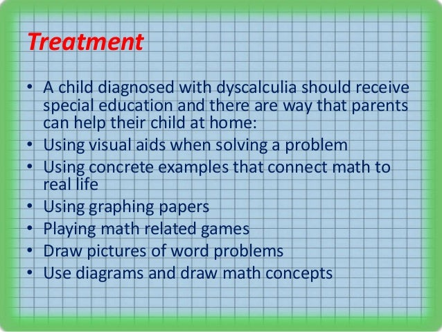 dyscalculia research paper Mathematics dyslexia and dyscalculia development research, vol 2012 -provide scrap paper for working.