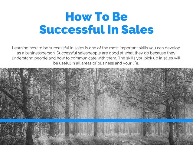 Ethan Dysert: How To Be Successful In Sales