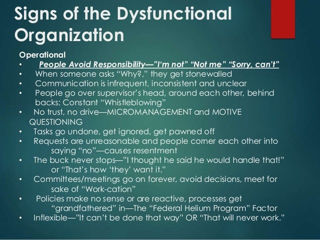 dysfunctional department in the work place The faculty in the math department of a major for a department in trouble through our work with academic in units that place blame.
