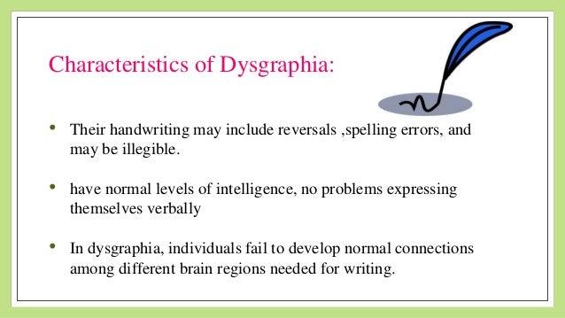 Dysgraphia Speech Therapy