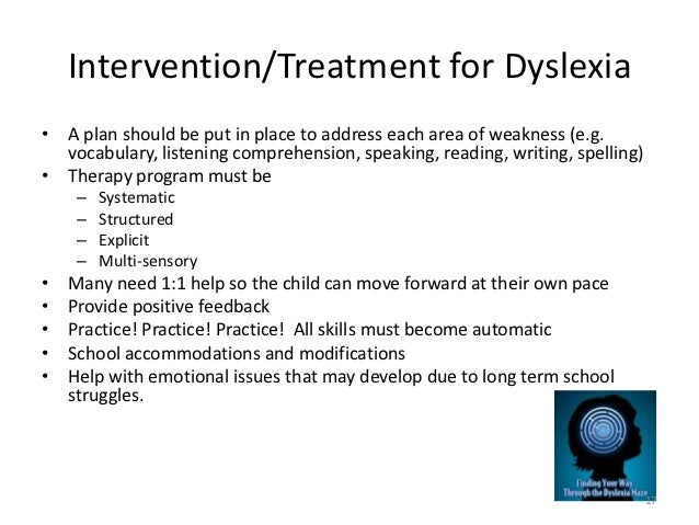 Treating Dyslexia >> The Efficiency Of The Dore Program In The Therapy Of
