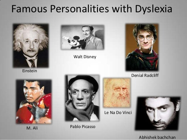 Famous People with Dyslexia | Learning Disabilities
