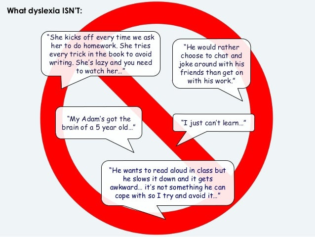 Dyslexia - Myths, Gifts & Tips