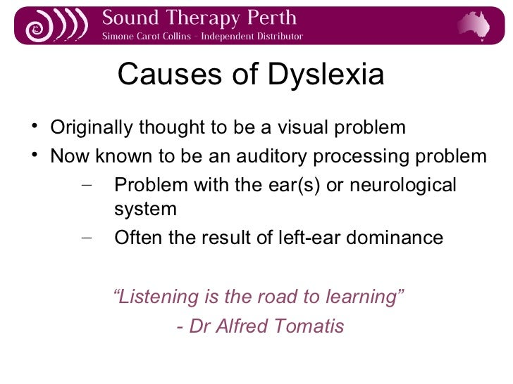Dyslexia Is Very Treatable So Why Arent >> Causes Of Dyslexia Term Paper Sample Vipaperkhvv