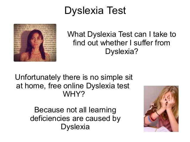 how to find out if you have dyslexia