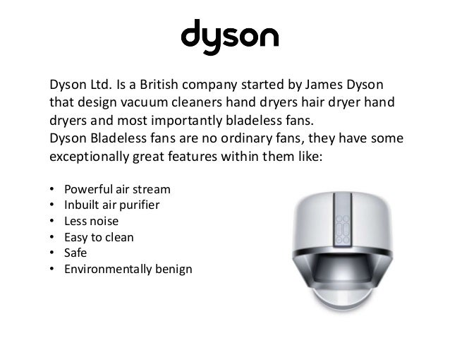 So Here Are Our Top 5 Dyson Bladeless Fans With Their Features