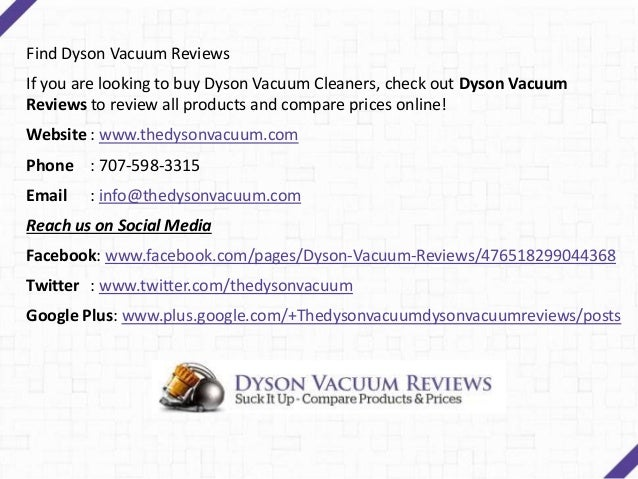 Dyson Vacuum Reviews - Find the Right Vacuum Cleaner for Your Home