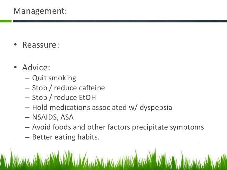 Management:•Prescription: