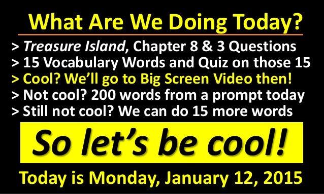 Treasure Island Chapter  Questions