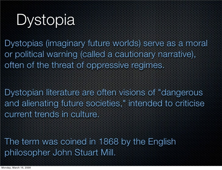 how to write a dystopian story