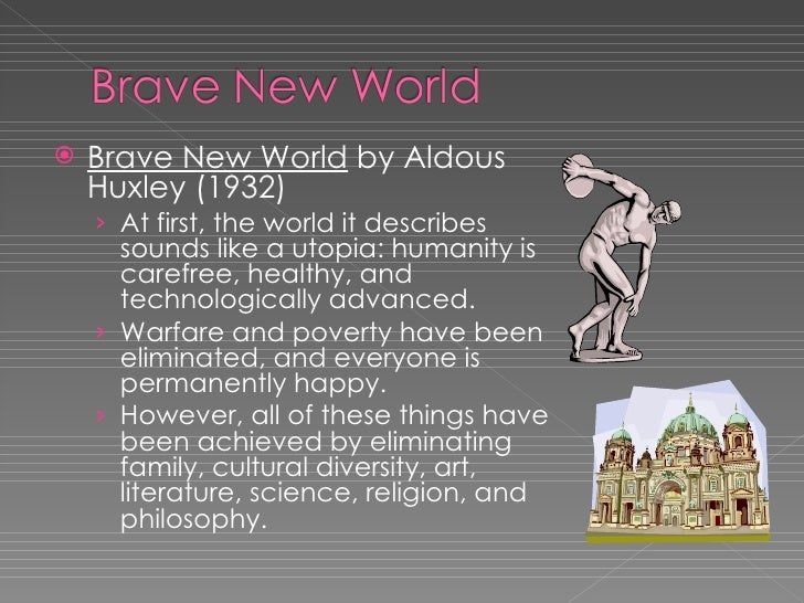 The abuse of power and science in brave new world by aldous huxley