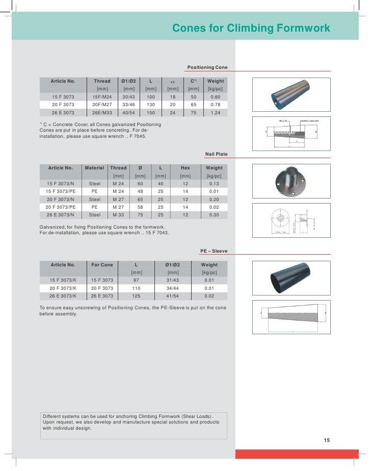 Doka formwork catalogue