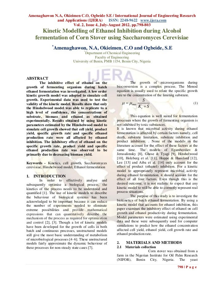 Amenaghawon N.A, Okieimen C.O, Ogbeide S.E / International Journal of Engineering Research              and Applications (...