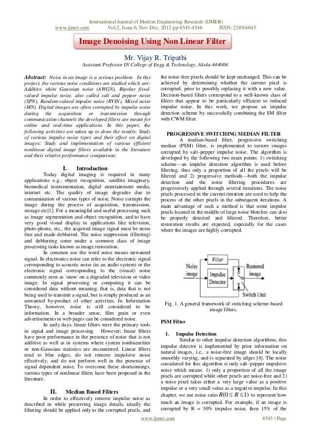 International Journal of Modern Engineering Research (IJMER)               www.ijmer.com         Vol.2, Issue.6, Nov-Dec. ...