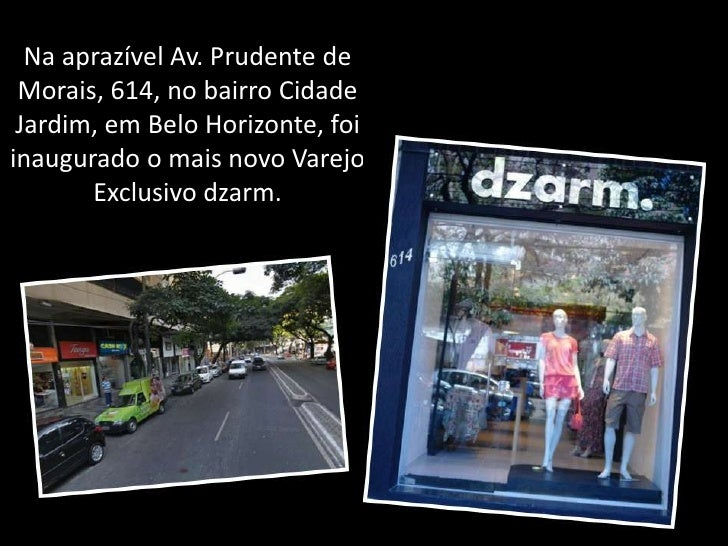 Na aprazível Av. Prudente de Morais, 614, no bairro Cidade Jardim, em Belo Horizonte, foi inaugurado o mais novo Varejo Ex...
