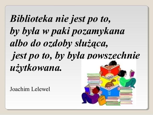 8 Maja - Święto Bibliotek i Bibliotekarzy