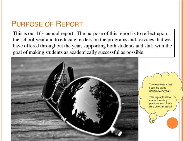 Palisades High School Library Annual report 2017 2018 Slide 2