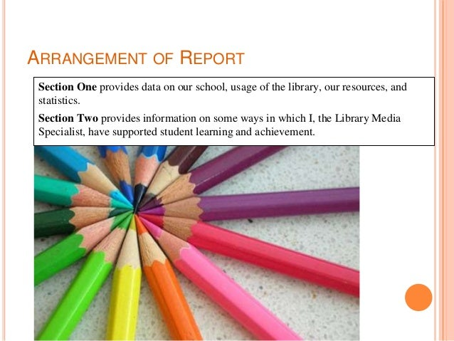 Palisades High School Library Annual report 2017 2018 Slide 3