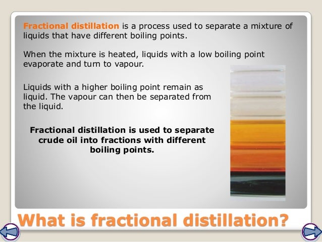 separating mixtures crude oil Chemical engineers use separation techniques as a method for separating mixtures (liquids) into singular compounds there are many different types of separation techniques but for the purpose of this presentation i will be focusing on crude oil separation techniques used in the petroleum industry.
