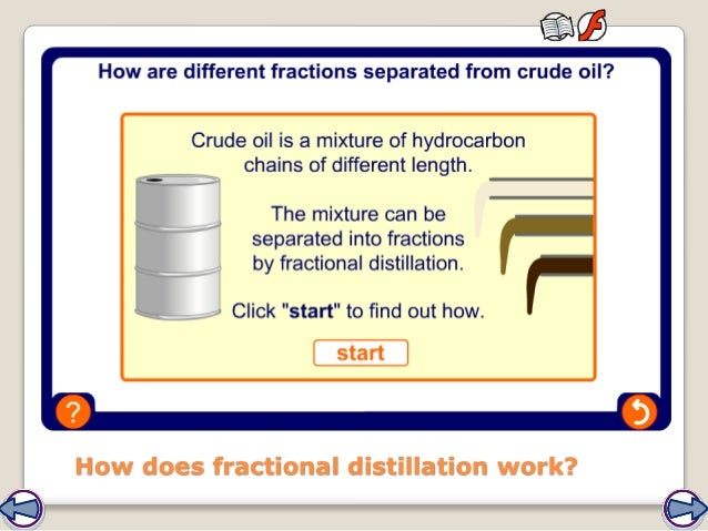How does fractional distillation work?