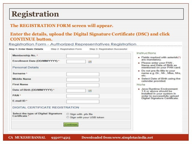 Accountants Registration