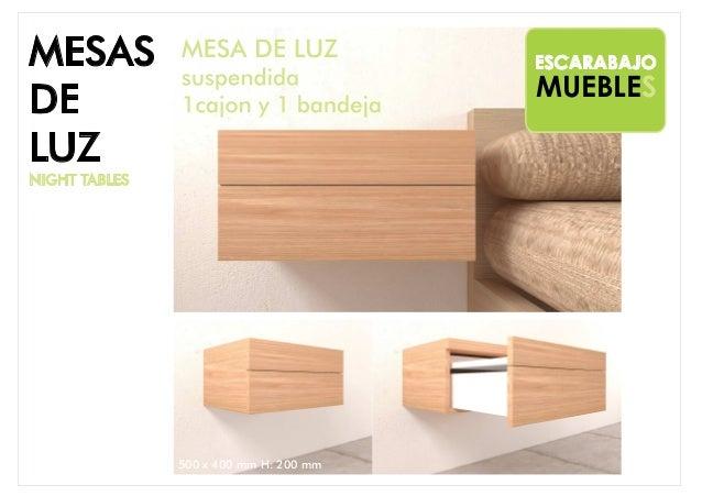 MESAS DE LUZ Slide 3