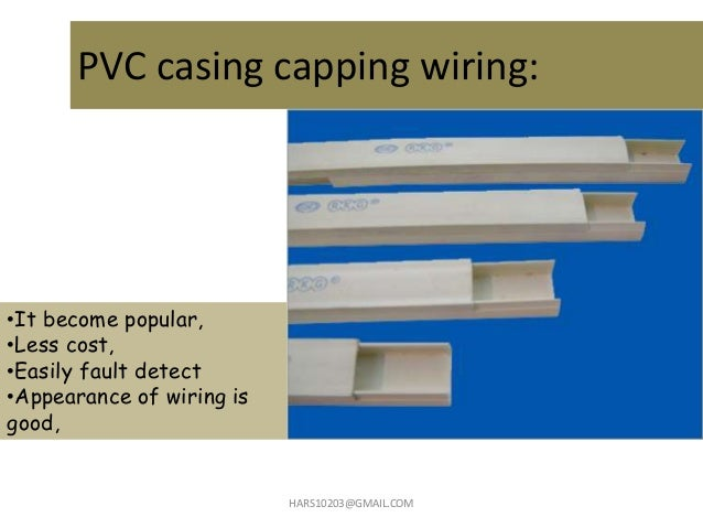 12 PVC Casing Capping Wiring