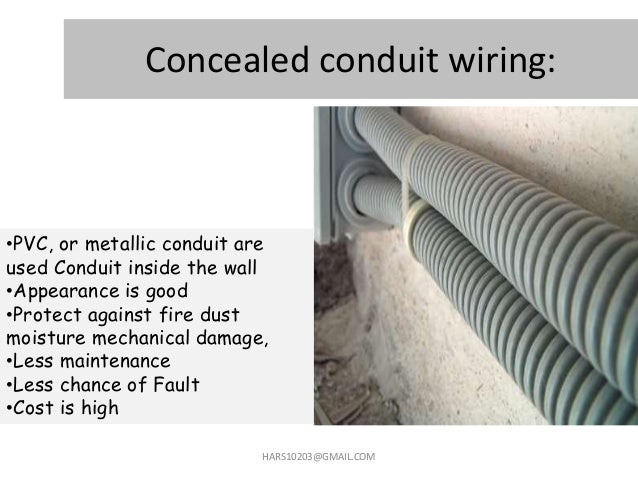 home wiring domestic wiring rh slideshare net pvc conduit for wiring conduit for wiring system