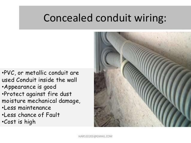 14 Concealed Conduit Wiring
