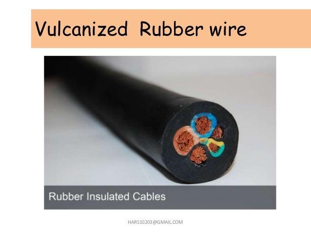 Vulcanized Rubber wire HARS10203@GMAIL.COM