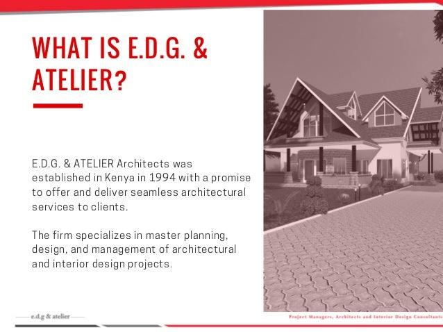NEWSLETTER December 2016 Issue; 2. WHAT IS E.D.G. ...