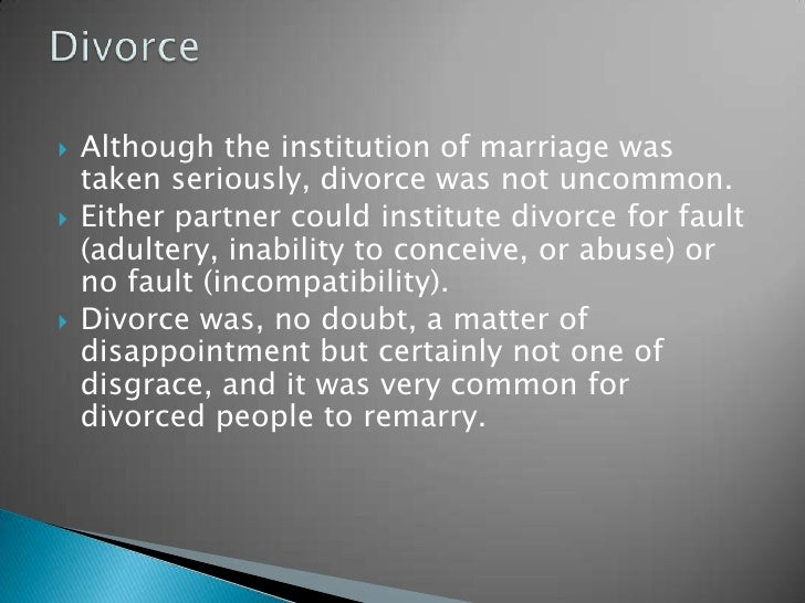 Marriage Is An Ancient Institution That Even Predates: Ancient Egyptian Society And Family Life